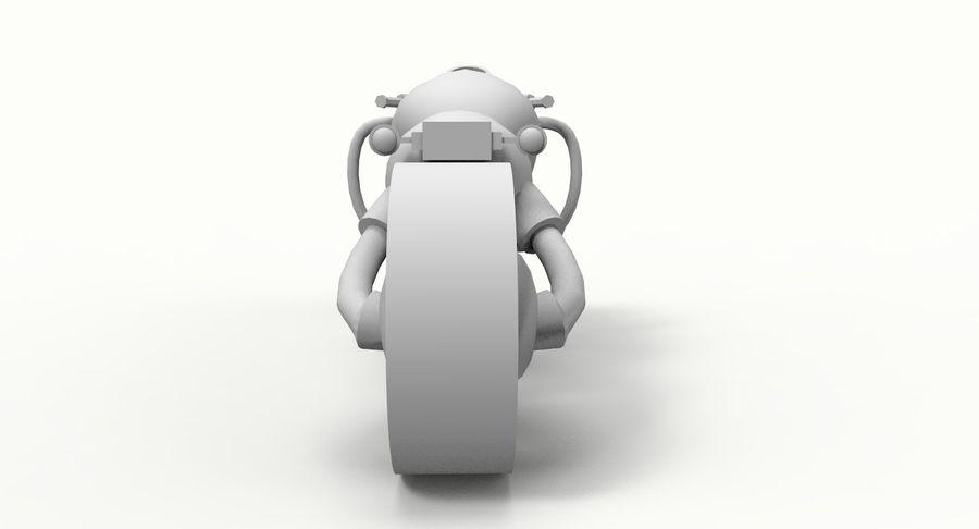 概念摩托车 royalty-free 3d model - Preview no. 11