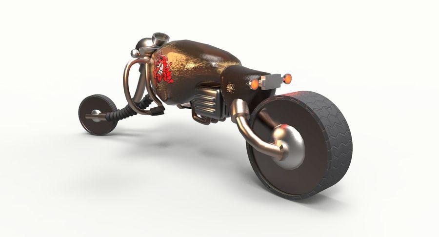 概念摩托车 royalty-free 3d model - Preview no. 6