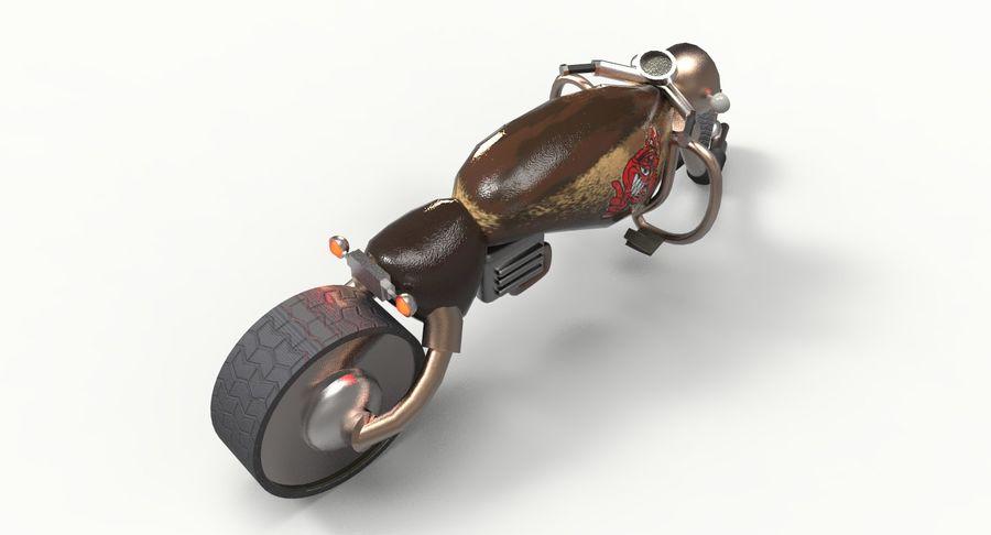 概念摩托车 royalty-free 3d model - Preview no. 5