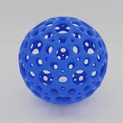 3D打印球 3d model