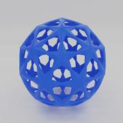 Piłka do drukowania 3d (1) 3d model