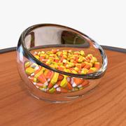 Halloween Candy Corn modelo 3d