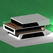hög tech_house 3d model