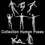 Poses Humaines 3d model