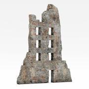 废墟建筑 3d model