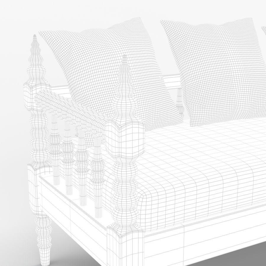 Soffa 5 royalty-free 3d model - Preview no. 7