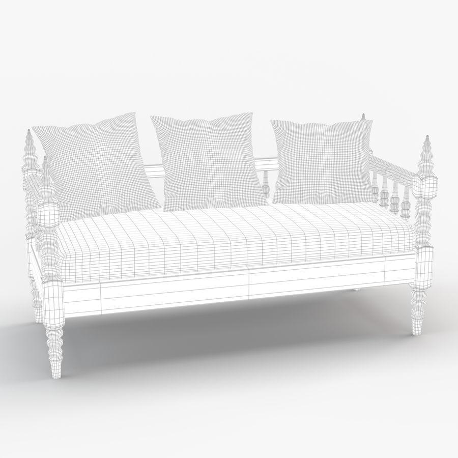 Soffa 5 royalty-free 3d model - Preview no. 6