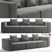 Sofa Blo 3d model