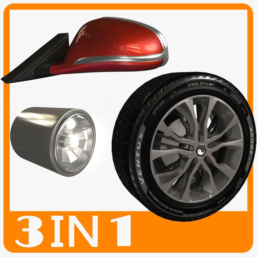 汽车零件 royalty-free 3d model - Preview no. 1
