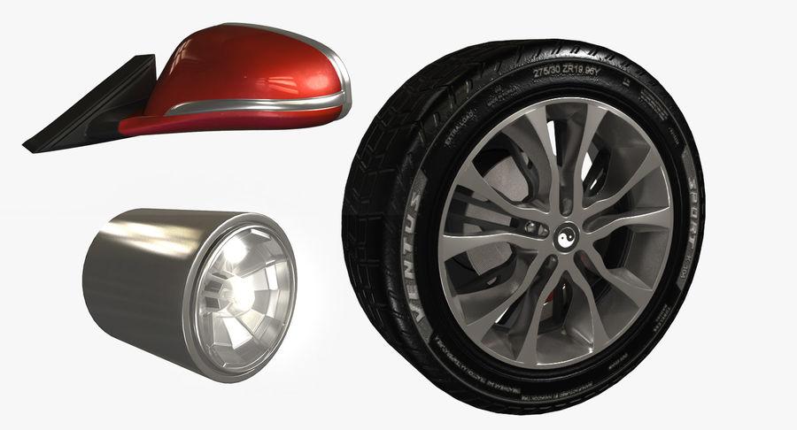 汽车零件 royalty-free 3d model - Preview no. 2