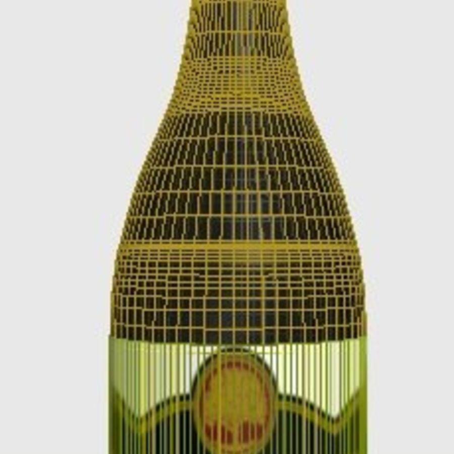Şarap şişesi royalty-free 3d model - Preview no. 2