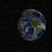 земной шар 3d model