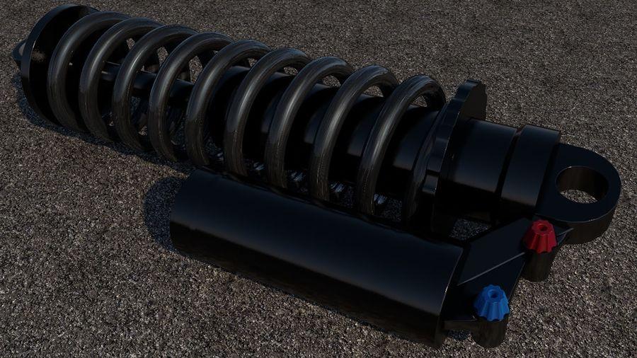 Amortiguador royalty-free modelo 3d - Preview no. 1