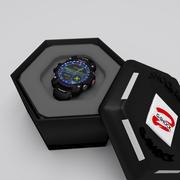 Casio G-Shock -  clock 3d model