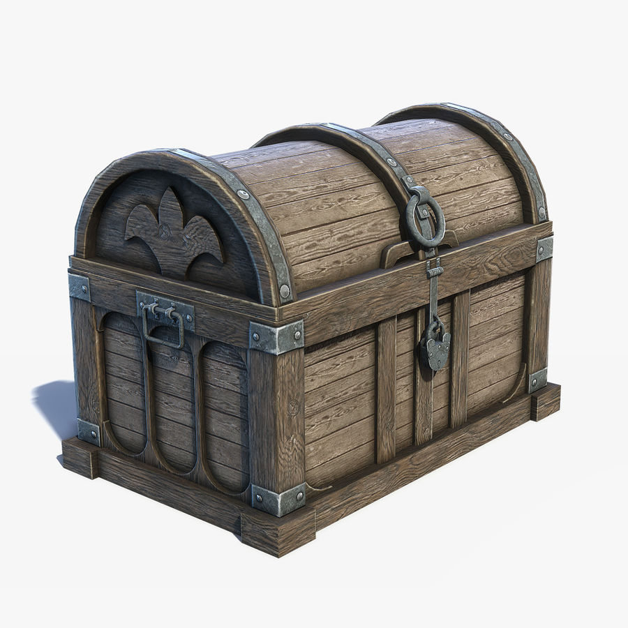 Chest Box Big royalty-free 3d model - Preview no. 1