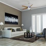 High def Classic living Room 5 3d model