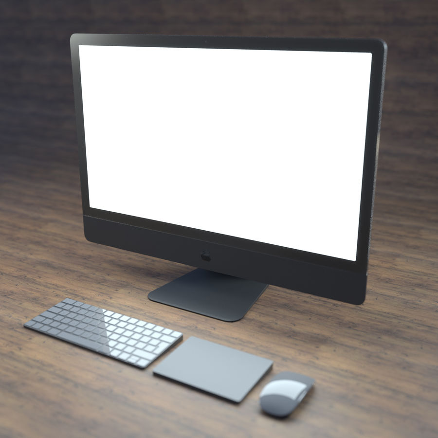 Komputer royalty-free 3d model - Preview no. 1