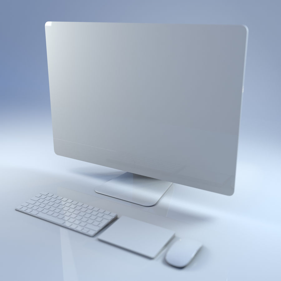 Computer royalty-free 3d model - Preview no. 4