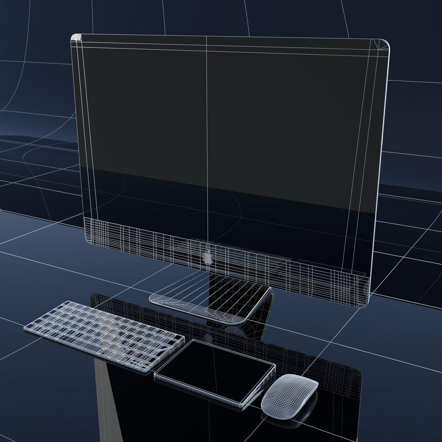 Computer royalty-free 3d model - Preview no. 3
