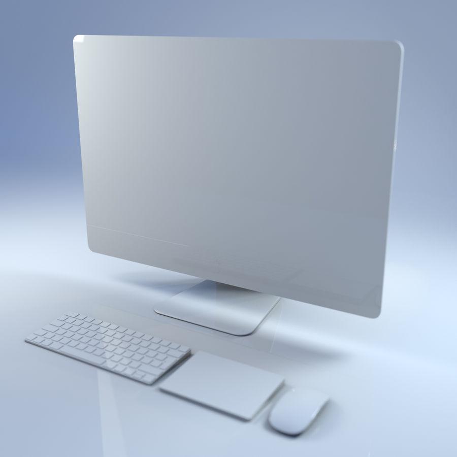 电脑 royalty-free 3d model - Preview no. 4