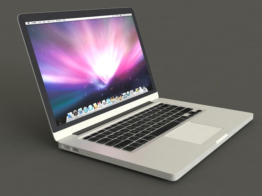 MacBook royalty-free 3d model - Preview no. 5