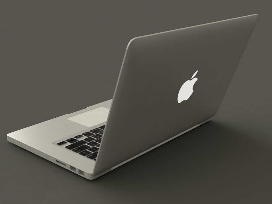 MacBook royalty-free 3d model - Preview no. 3
