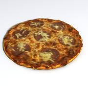 Pizza Salami 3d model