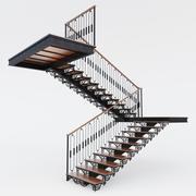ladder forged 3d model