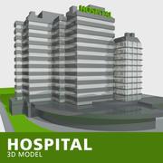 Krankenhaus 2 3d model