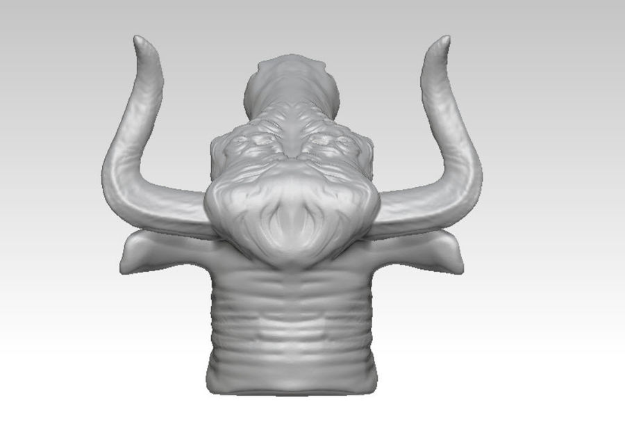Stierengevecht royalty-free 3d model - Preview no. 5