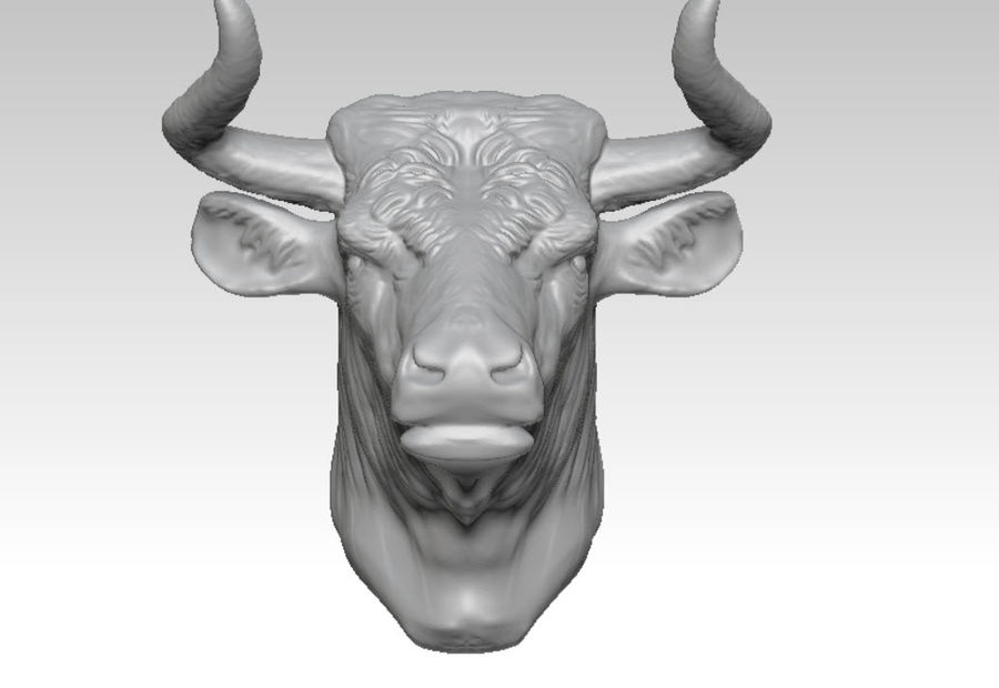 Stierengevecht royalty-free 3d model - Preview no. 3