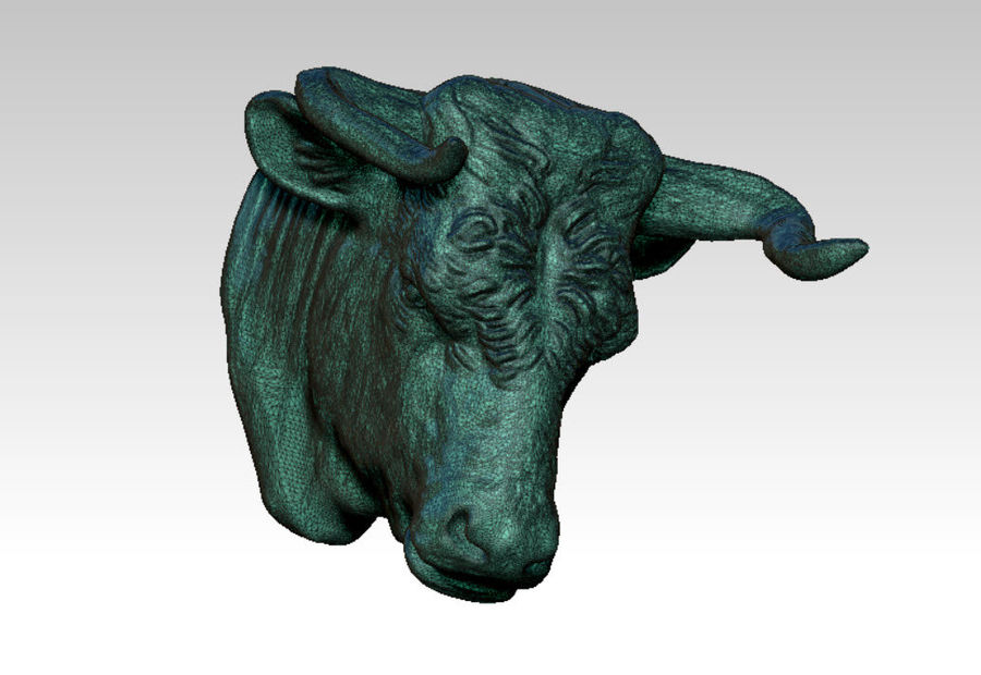Stierengevecht royalty-free 3d model - Preview no. 2