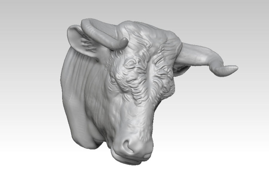 Stierengevecht royalty-free 3d model - Preview no. 1