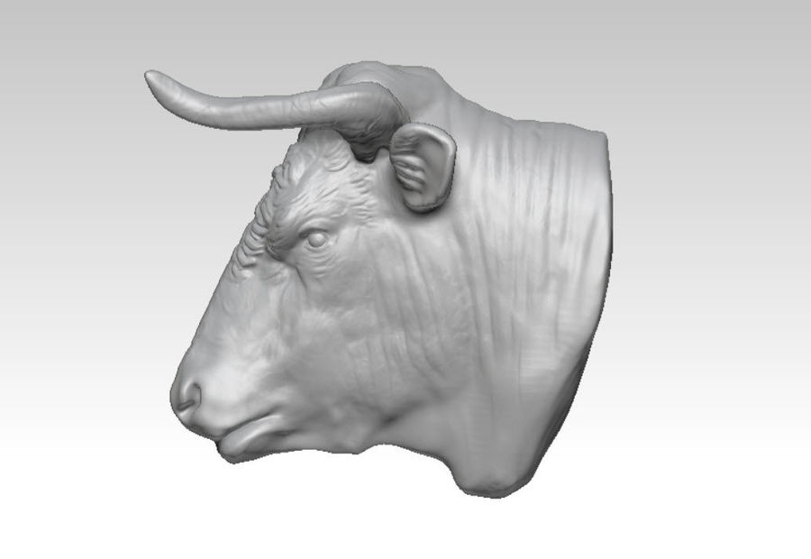 Stierengevecht royalty-free 3d model - Preview no. 4