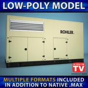 Generatore (Low Poly) 3d model