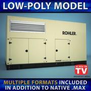 Generador (Low Poly) modelo 3d