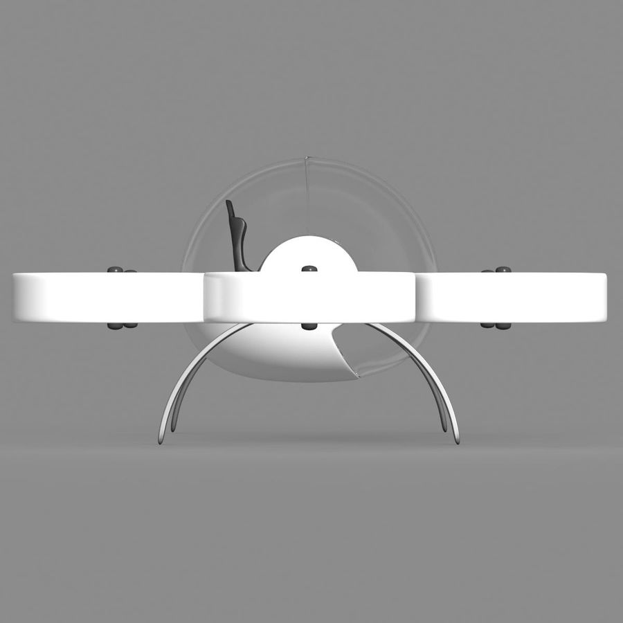 Personal Drone royalty-free 3d model - Preview no. 4