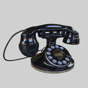 Antique Rotary Phone 3d model