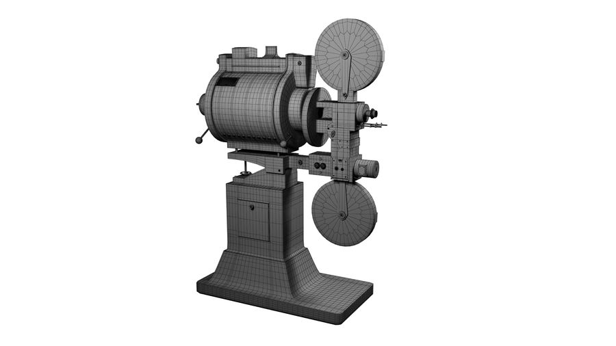 projector royalty-free 3d model - Preview no. 8