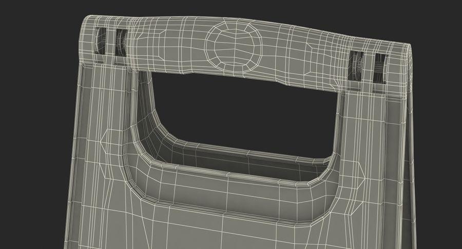 Sinal de piso molhado cuidado royalty-free 3d model - Preview no. 15