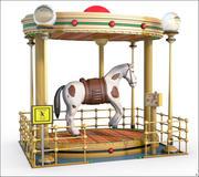 Fantasy Horse Fair Ride modelo 3d
