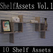 Shelf Assets Vol.1 3d model