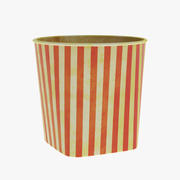 Coupe Popcorn 3d model