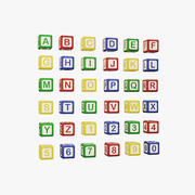Alphabet Colored Cubes - Letters And Numbers For Children 3d model