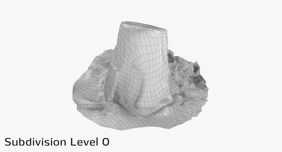 오크 그루터기 9 royalty-free 3d model - Preview no. 25