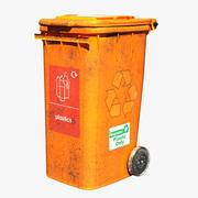 Trash Bin Plastic 3d model