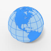 3D Globe 3d model