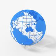 3D Globe V2 3d model