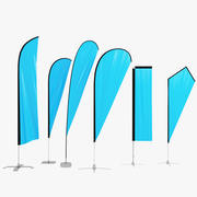 6 Flag Exhibition 3d model