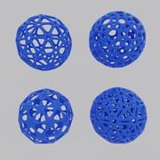 Balls for 3d printing. 3d model